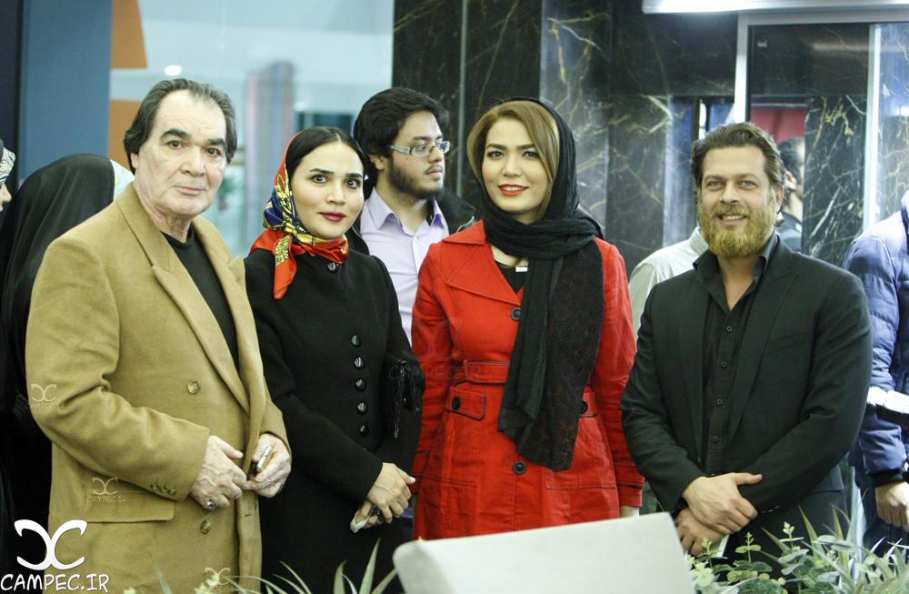 رضا صفایی پور با دخترش