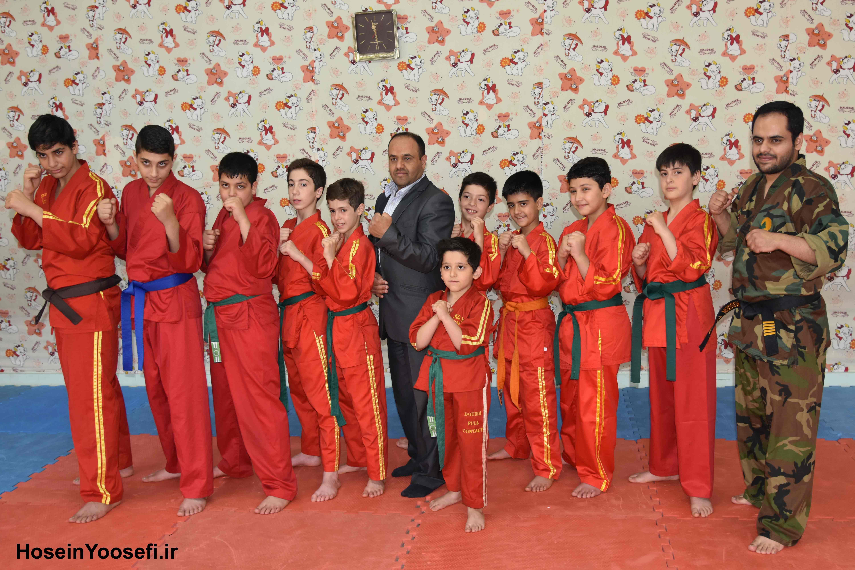 بازدید استاد رضا یوسفی و استاد حسین یوسفی از کانون امید