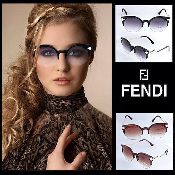 عینک آفتابی زنانه طرح فندی