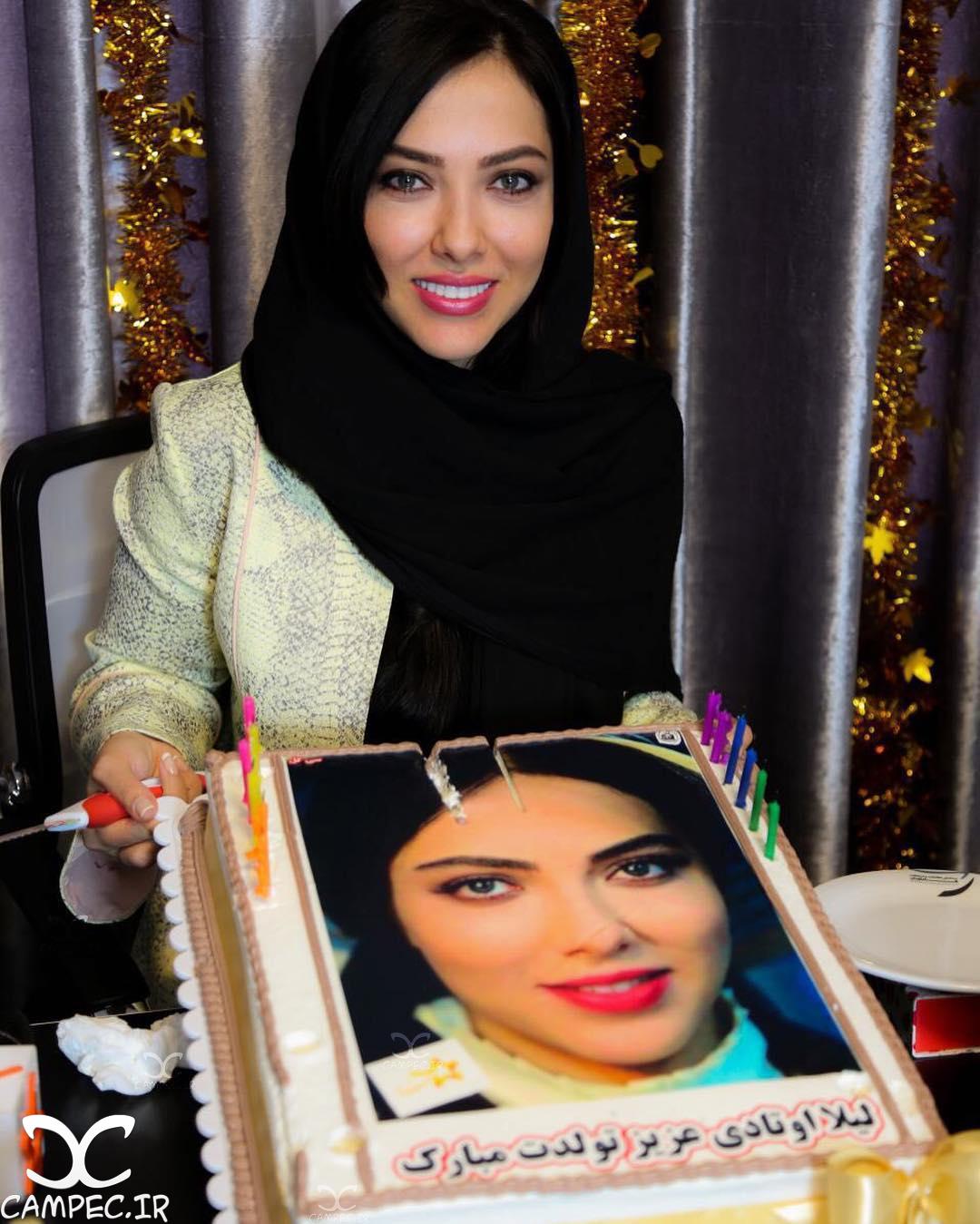 عکس جشن تولد لیلا اوتادی