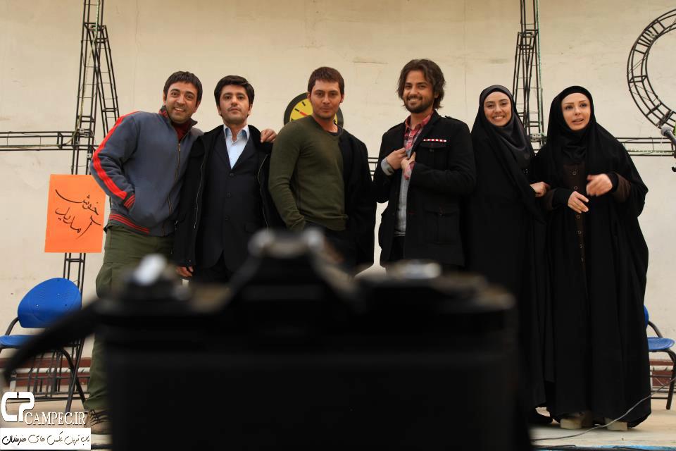 الناز بهمن زاد سر صحنه سریال راستش را بگو