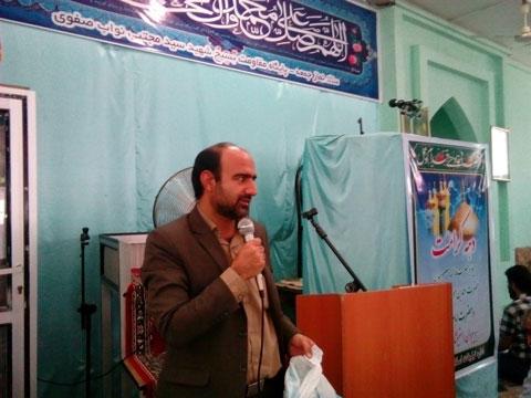 سید نادر حسینی نماز جمعه ممسنی