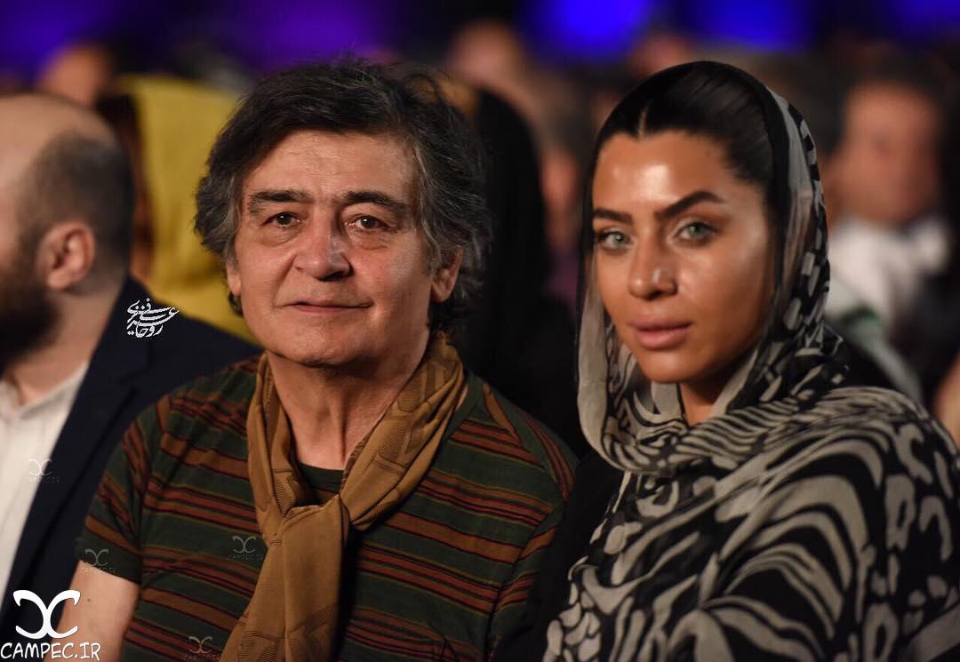 رضا رویگری و همسرش در کنسرت شهرام و حافظ ناظری