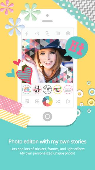 دانلود نرم افزار عکاسی کندی کمرا Candy Camera – Selfie Selfies v2.96 برای اندروید و آی او اس