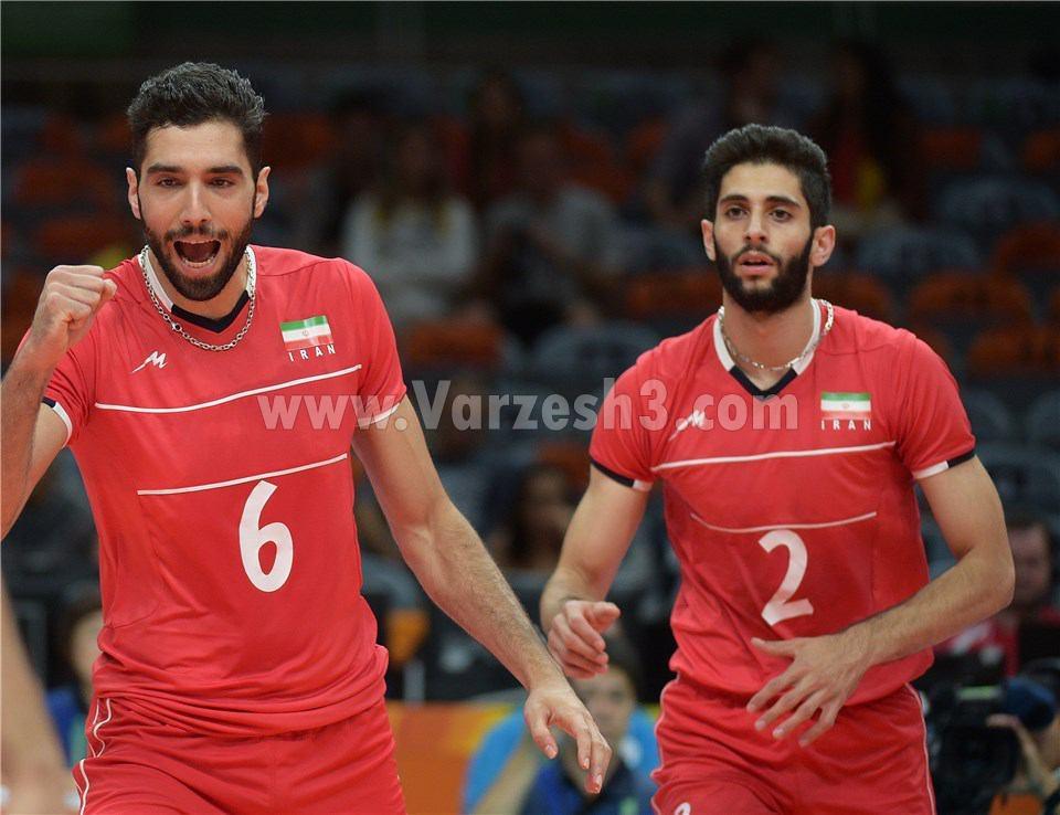 فیلم والیبال ایران و آرژانتین در المپیک 2016 ریو | نتیجه | 18 مرداد 95