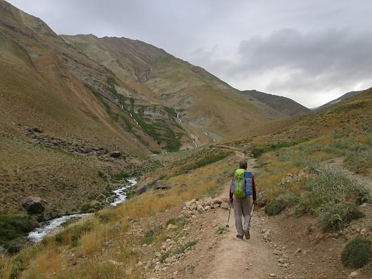 مسیر قله خلنو