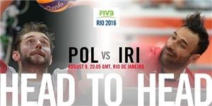 نتیجه بازی والیبال ایران و لهستان المپیک 2016 ریو 20 مرداد 95+دانلود فیلم خلاصه