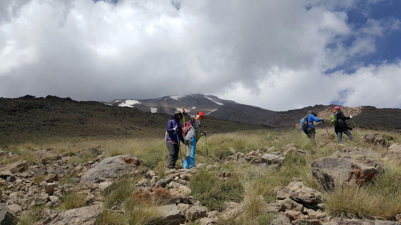 فتح قله دماوند