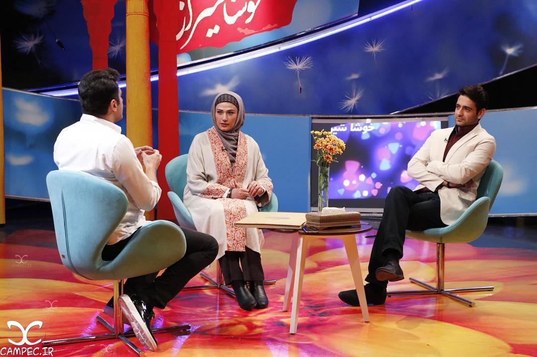 لادن مستوفی و امیر حسین آرمان در خوشا شیراز