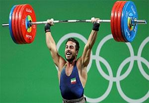دانلود فیلم مسابقه وزنه برداری کیانوش رستمی در المپیک 2016 اهدای مدال طلا