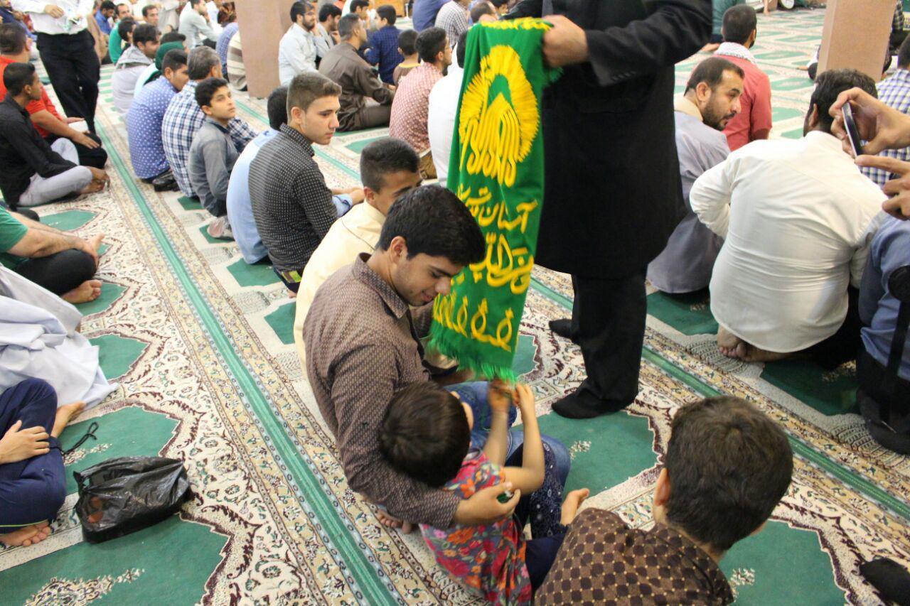 استقبال از خادمین حرم امام رضا علیه السلام