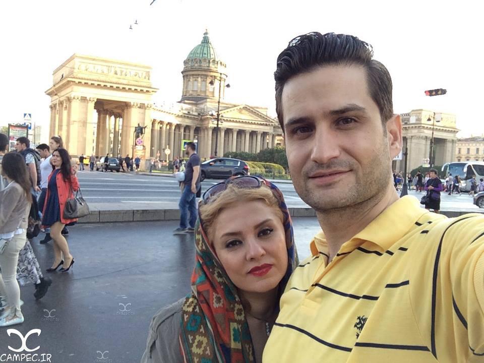 عکسها و بیوگرافی پویا امینی و همسرش بیتا بجانلی