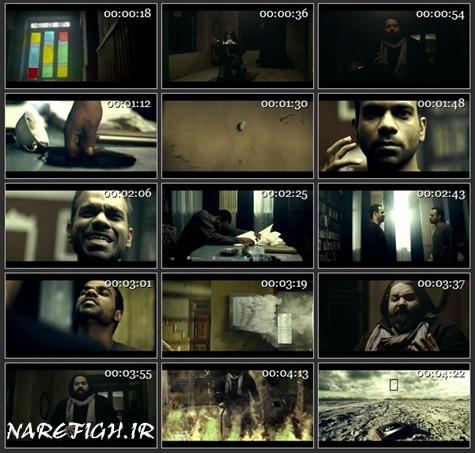 دانلود موزیک ویدیو کلافه از رضا صادقی با کیفیت HD-1080P