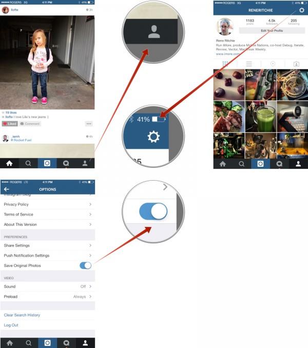 ذخیره عکس های اینستاگرام با سایز اصلی با آموزش تصویری