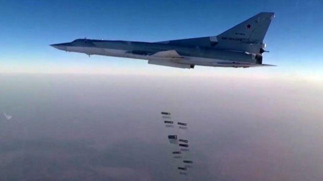 بمبافکنهای روسیه از پایگاه هوایی همدان عازم ماموریت جنگی در سوریه شدند