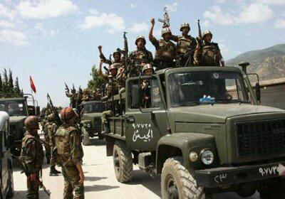 : پيشروي ارتش سوريه در جنوب حلب