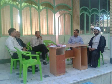 جلسه هیات امناء امامزاده سید محمد(ع)