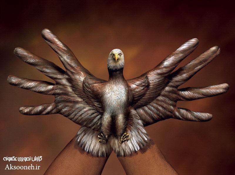 زیباترین تصاویر هنرنمایی با دست | WwW.Aksooneh.IR