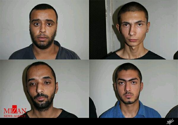 : دستگيري باند زورگيران پايتخت