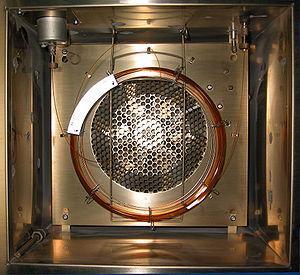 داخل دستگاه کروماتوگرافی