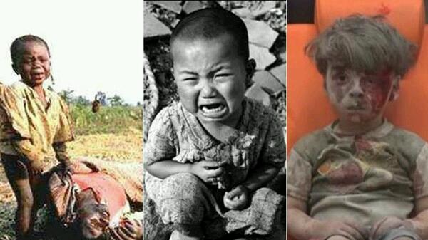 10 تصوير تأثيرگذار از کودکان که جهان را تکان داد              1