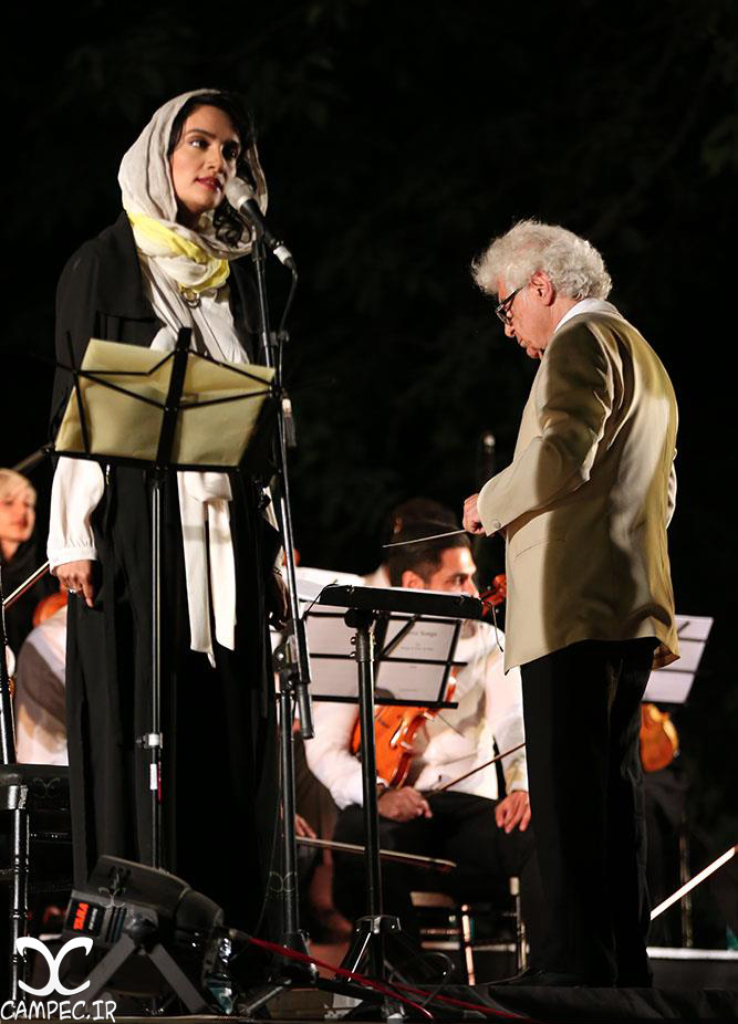 میترا حجار در كنسرت لوريس چكناواريان