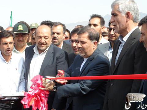 افتتاح پل جدید فهلیان