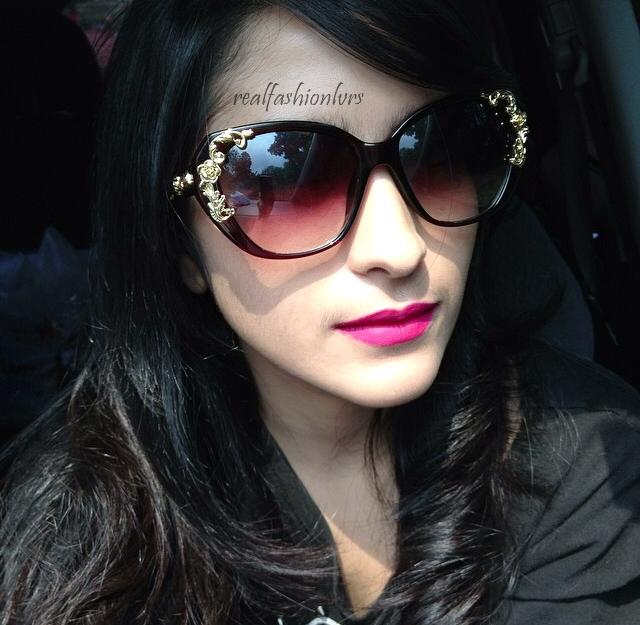 فروش عینک آفتابی زنانه گرانجو گل دار