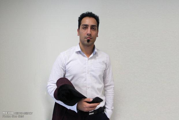 رضا قیامت -مدیر کانال گیزمیز