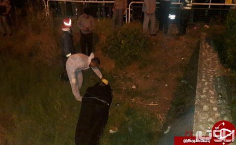 کشف جسد مرد برهنه در پارک دانشجوی رشت مجاور پل شهدای گمنام یخسازی+عکس