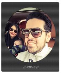 عماد طالب زاده و همسرش آتوسا یوسفی+بیوگرافی و عکسها