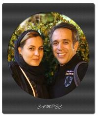 عکسهای امیر کربلایی زاده با همسرش