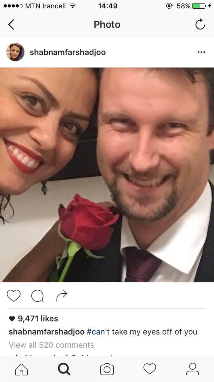 ازدواج شبنم فرشادجو با مرد آلمانی+عکس همسرش