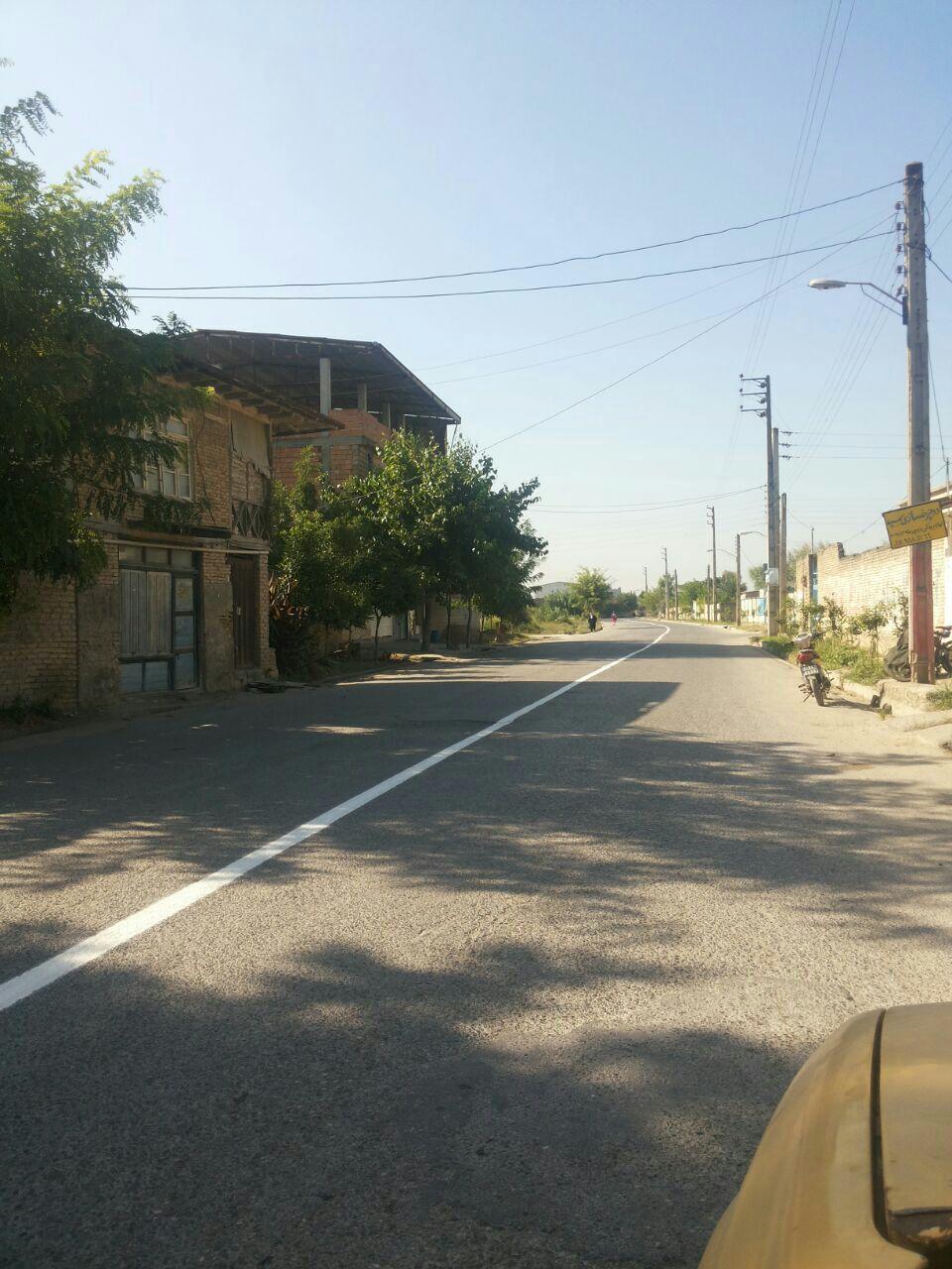 خط کشی خیابان های زاغمرز