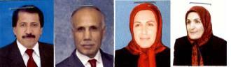 فرار زبونانه مژگان پارسایی ، صدیقه حسینی ، مهد ی برایی و عبدالوهاب فرجی نژاد