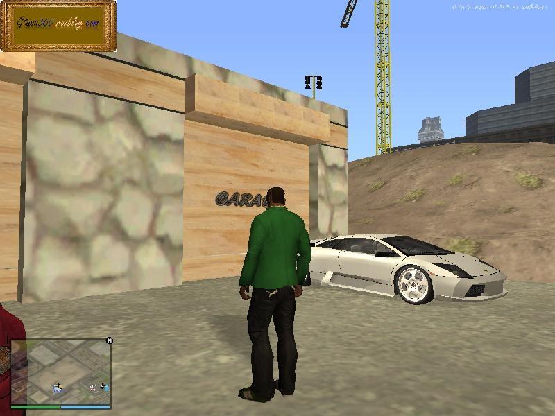 مد باز شدن درب دو گاراژ برای GTA SA