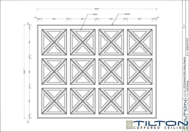 نقشه مناف سقف کلاسیک3