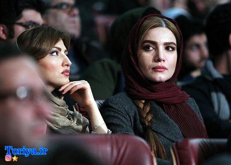 متین ستوده و سمیرا حسینی در جشنواره فیلم فجر فیلم فجر 35