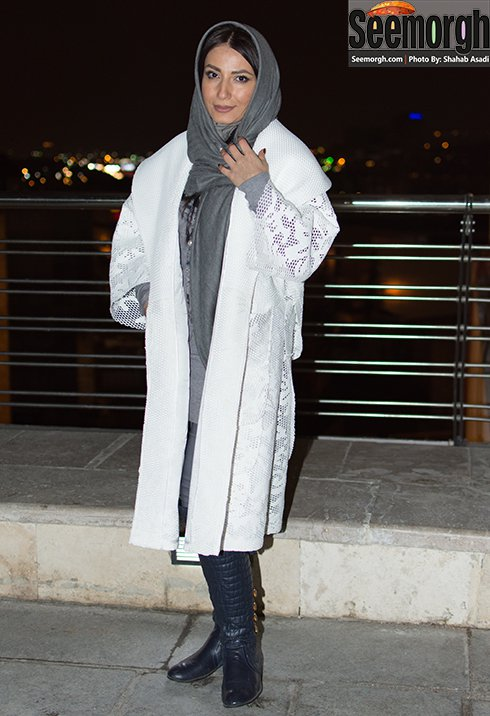 عکس سمیرا حسن زاده در جشنواره فیلم فجر 35