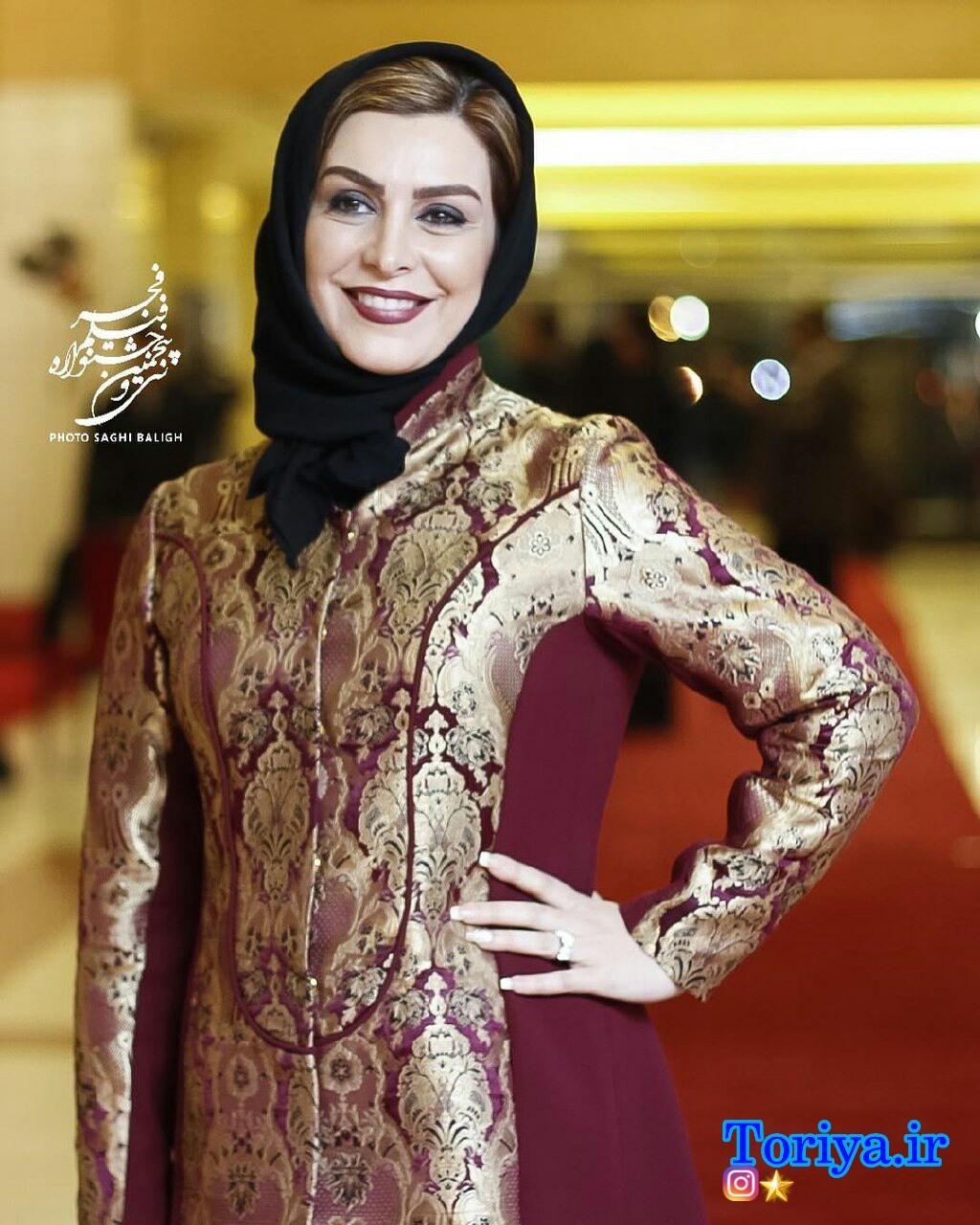 ماهچهره خلیلی در سی و پنجمین جشنواره فیلم فجر