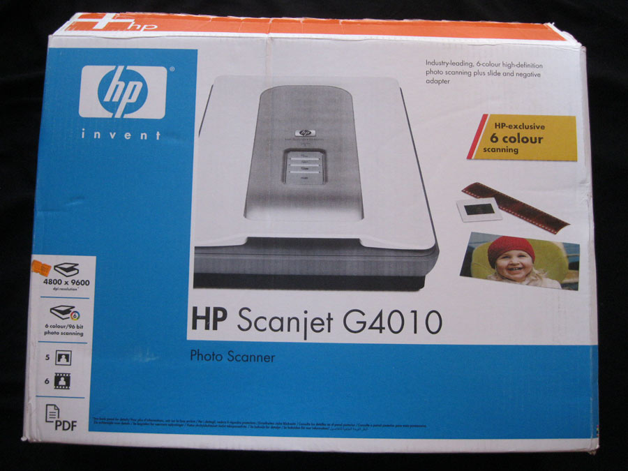 Hp scanjet 4100