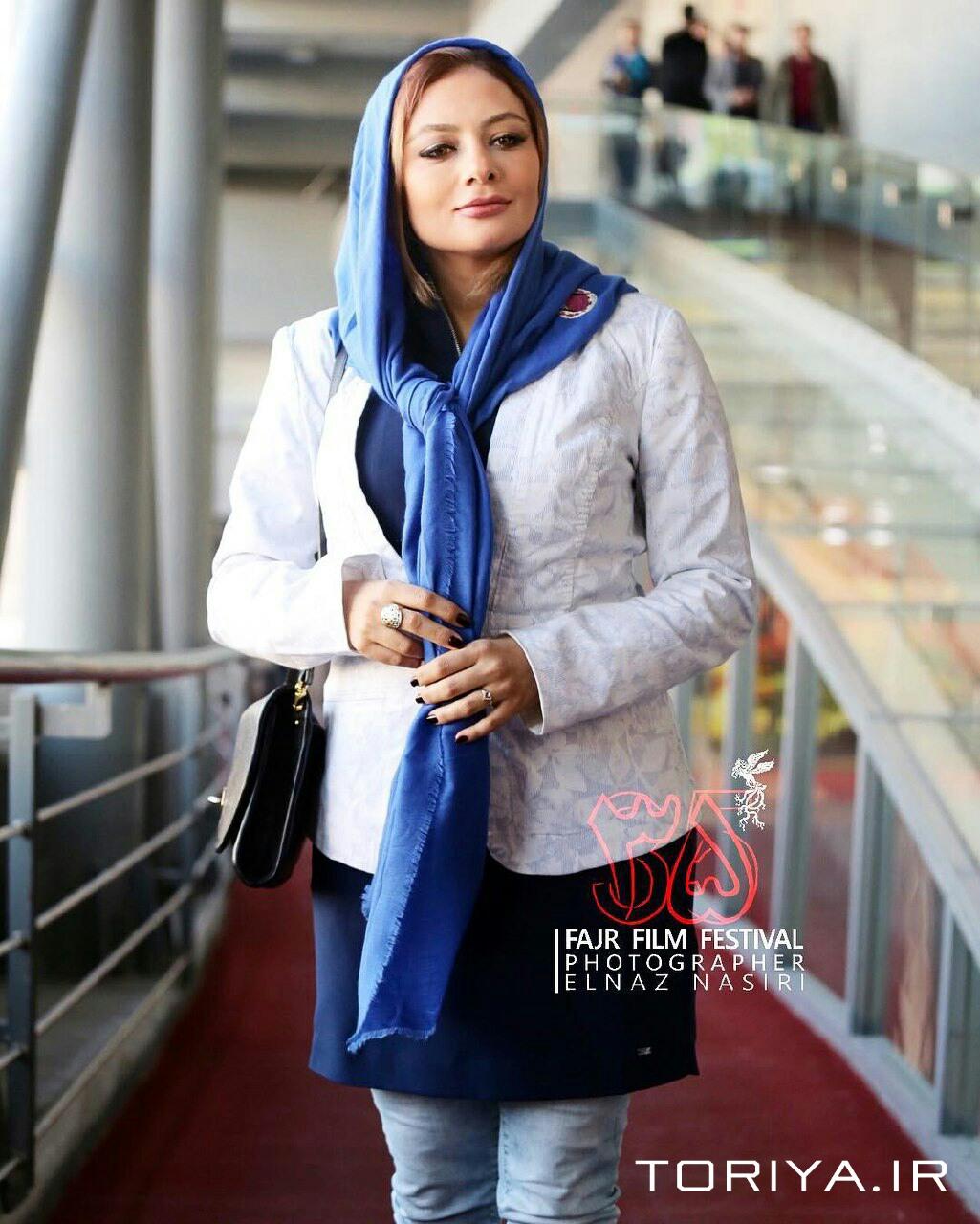 یکتا ناصر در اکران فیلم کارگر ساده نیازمندیم در فجر ۳۵