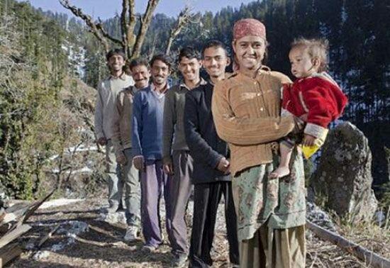 نمونه چند همسری در هند
