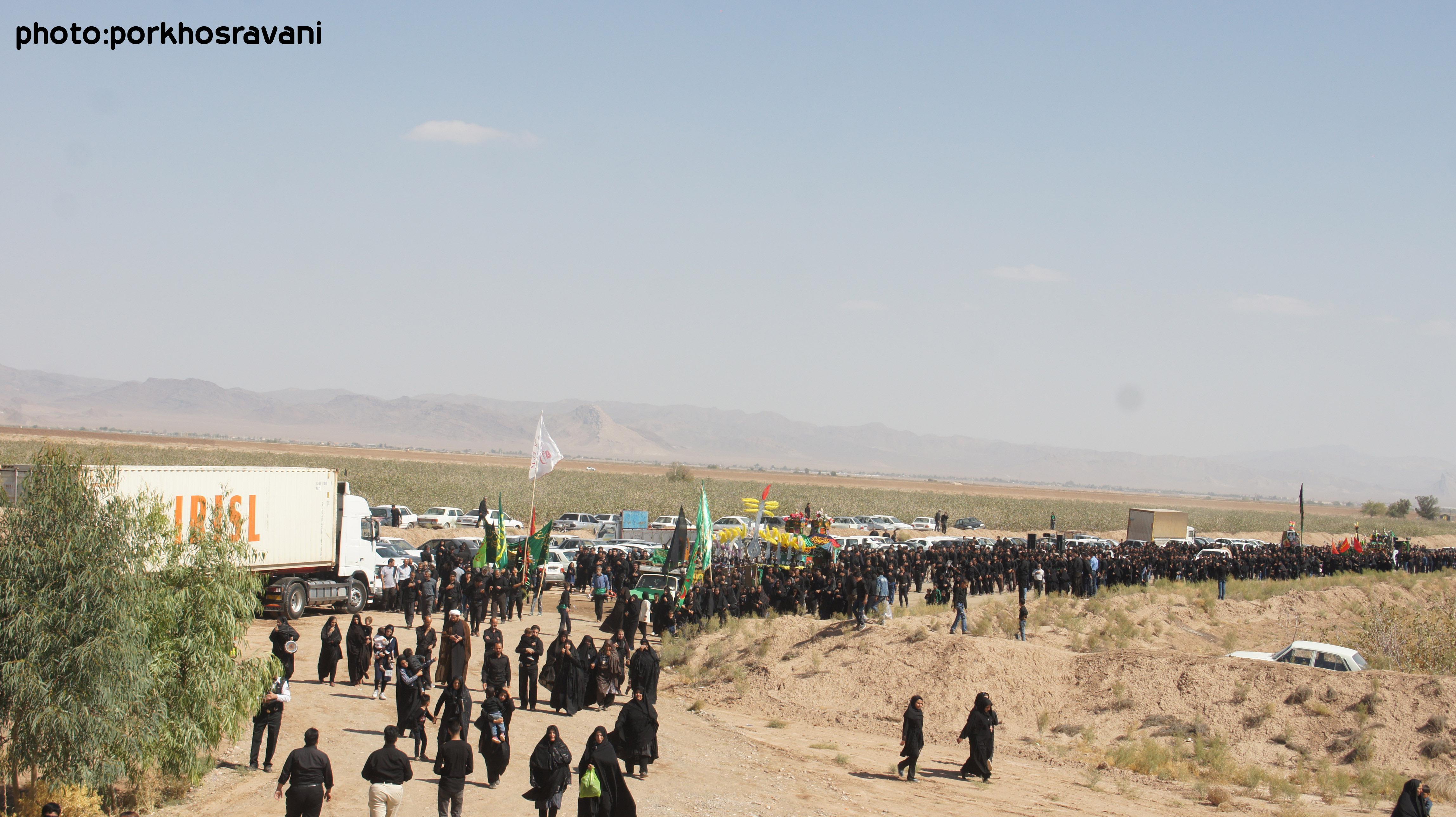 نماهنگ عاشورای حسینی95 در روستای خسروانی