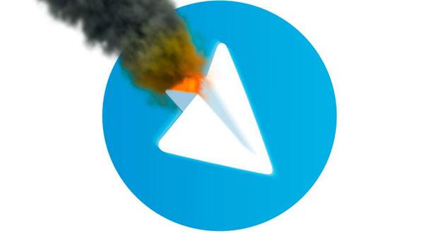 علت قطع شدن تلگرام