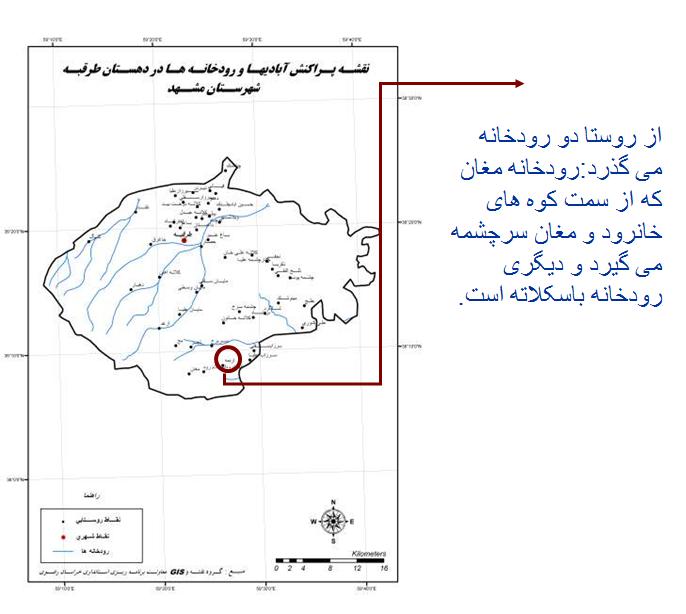 تحلیل روستای اردمه
