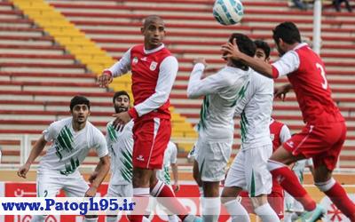 نتیجه و خلاصه بازی تراکتورسازی و ذوب آهن شنبه 23 بهمن 95