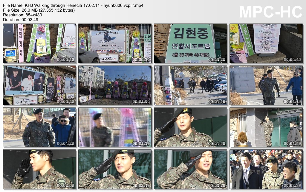 [HolisHyun Fancam] Kim Hyun Joong Discharged from Military Service [2017.02.11]