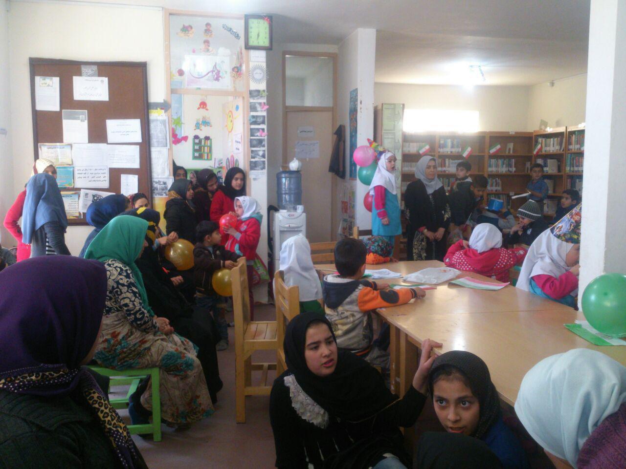 جشن انقلاب در کتابخانه های عمومی شهرستان خدابنده