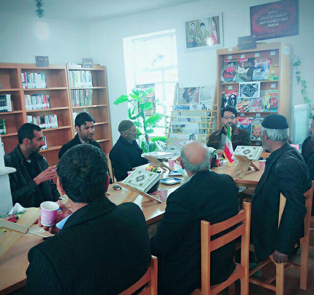 محفل انس با قرآن کریم در کتابخانه عمومی حاج چراغعلی رسو ل خانی
